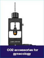 CO2 accessories for gynecology