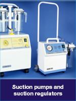 Suction pumps and regulators